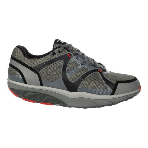 Mens MBT Sabra Trail 6 Lace Up Walking Shoe - Grey/Pigment/Black 41