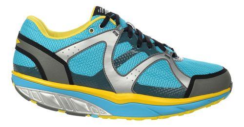 Mens MBT Sabra Trail 6 Lace Up Walking Shoe - Blue/Smoke/Yellow C 42