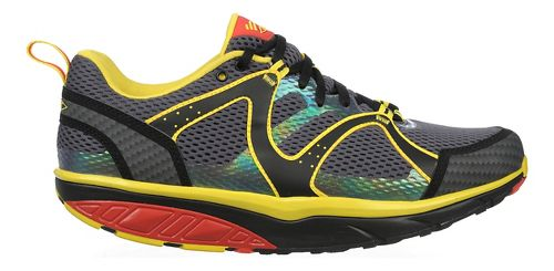 Mens MBT Sabra Trail Lace Up Walking Shoe - Red/Yellow/Black 42