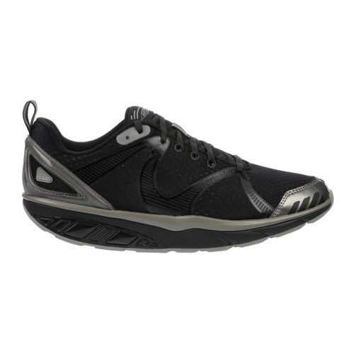 Mens MBT Simba 5 Walking Shoe - Raven/Black/Grey 41
