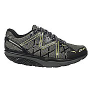 Mens MBT Simba 6 Walking Shoe - Black/Grey/Lime 40