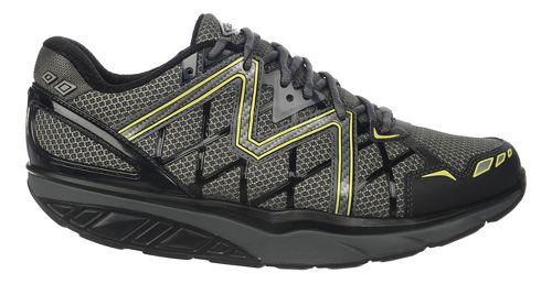 Mens MBT Simba 6 Walking Shoe - Black/Grey/Lime 43