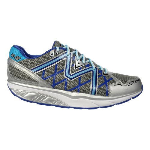 Mens MBT Simba 6 Walking Shoe - Black/Blue Pop/Sun 42