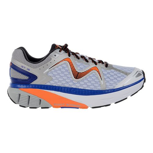 Mens MBT GT 16 Running Shoe - White/Orange/Royal 10.5