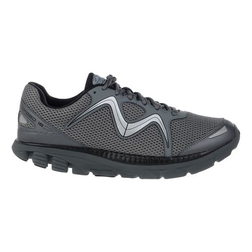 Mens MBT Speed 16 Lace Up Running Shoe - Black/Cool Grey 9.5
