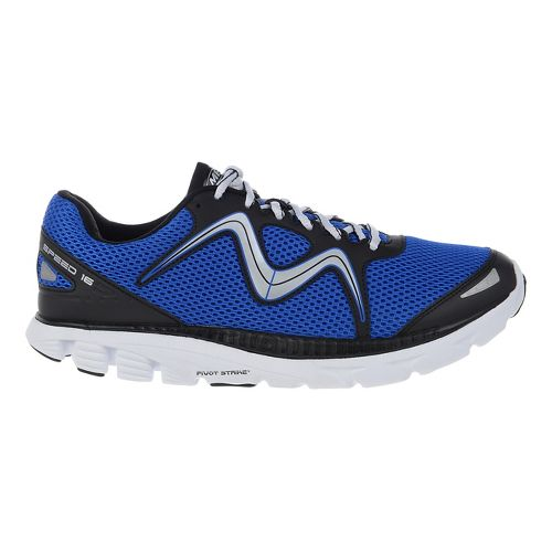 Mens MBT Speed 16 Lace Up Running Shoe - Royal/Black 11.5