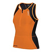 Womens 2XU Perform Tri Singlet Sleeveless & Tank Technical Tops