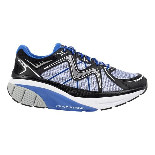 Mens MBT Zee 16 Running Shoe - Black/Blue 9