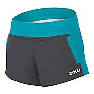 "Womens 2XU Stride 4"" Unlined Shorts"