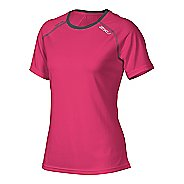 Womens 2XU Tech Vent Short Sleeve Technical Tops