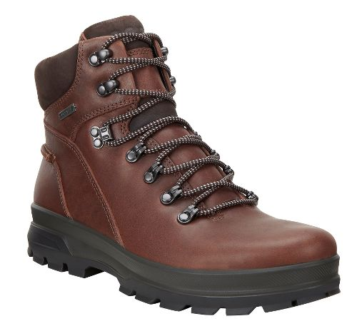 Mens Ecco Rugged Track GTX High Hiking Shoe - Bison/Mocha 41