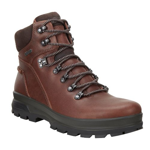 Mens Ecco Rugged Track GTX High Hiking Shoe - Bison/Mocha 40