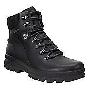Mens Ecco Rugged Track GTX High Hiking Shoe - Black/Black 42