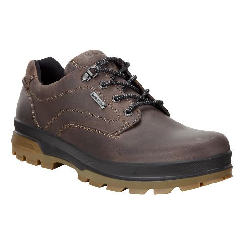 Mens Ecco Rugged Track GTX Low Hiking Shoe - Dark Clay 40