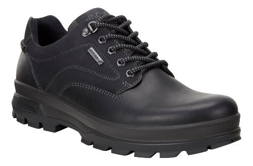 Mens Ecco Rugged Track GTX Low Hiking Shoe - Black 47