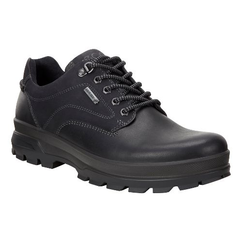 Mens Ecco Rugged Track GTX Low Hiking Shoe - Black 42