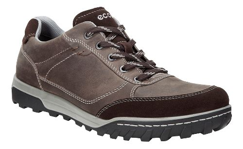 Mens Ecco Urban Lifestyle Low Casual Shoe - Coffee 41