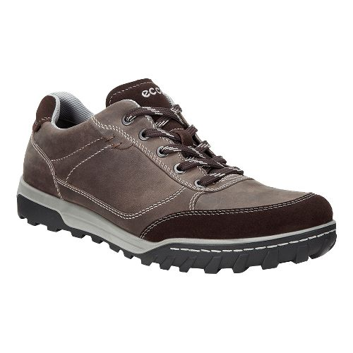 Mens Ecco Urban Lifestyle Low Casual Shoe - Coffee 45