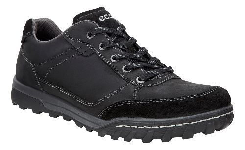 Mens Ecco Urban Lifestyle Low Casual Shoe - Black 46