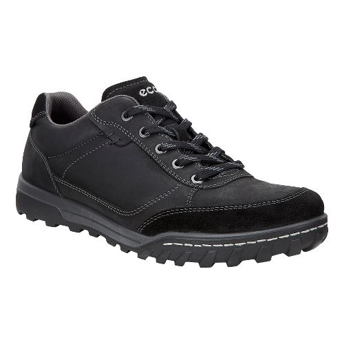 Mens Ecco Urban Lifestyle Low Casual Shoe - Black 45