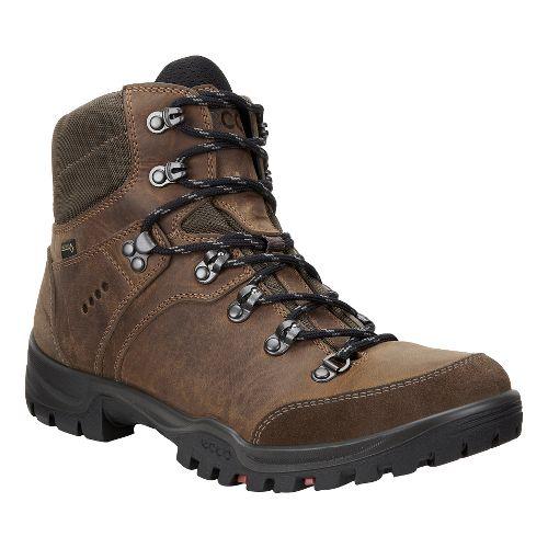 Mens Ecco Xpedition III GTX Hiking Shoe - Camel 42