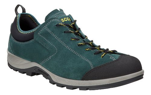 Mens Ecco Yura Moc Toe Hiking Shoe - Black/Dioptase 44