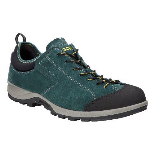 Mens Ecco Yura Moc Toe Hiking Shoe - Black/Dioptase 41