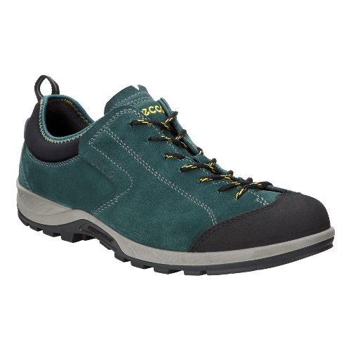 Mens Ecco Yura Moc Toe Hiking Shoe - Black/Dioptase 46