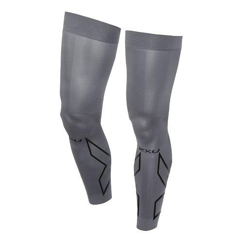 2XU Compression Flex Leg Sleeves Injury Recovery - Titanium/Black XS