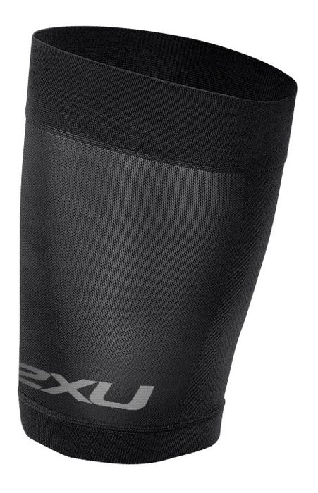 2XU® Compression Quad Sleeve :: The latest Compression Quad Sleeve has been updated with an improved fit and design. Repeated muscle vibration is directly related to causing fatigue and muscle damage. This sleeve provides powerful support to the quad and hamstring muscles as well as stabilization of strained muscles.   This web exclusive item ships separately within the continental U.S. only. You can count on this item to ship in 3-5 business days!