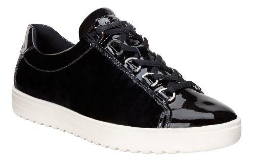 Womens Ecco Fara Tie Casual Shoe - Black 37