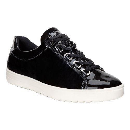 Womens Ecco Fara Tie Casual Shoe - Black 38