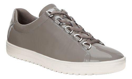 Womens Ecco Fara Tie Casual Shoe - Warm Grey 39