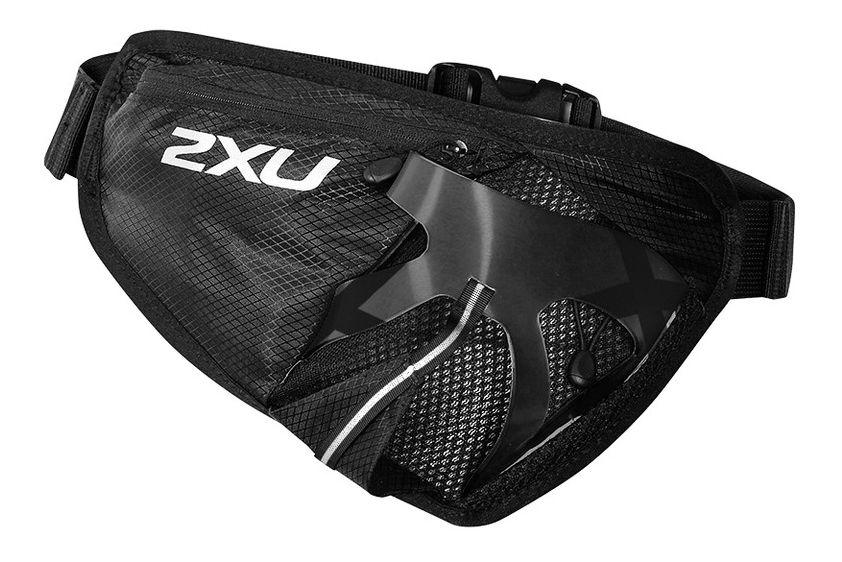 2XU® Large Bottle Waist Pack :: The 2XU® Waist Pack is the ideal companion for all endurance athletes. Featuring an adjustable elasticized belt for a secure fit, this pack offers POWER MESH pockets for increased breathability and storage to combat all workouts. Complete with a zipped pocket, this pack meets all race day demands.   This web exclusive item ships separately within the continental U.S. only. You can count on this item to ship in 3-5 business days!