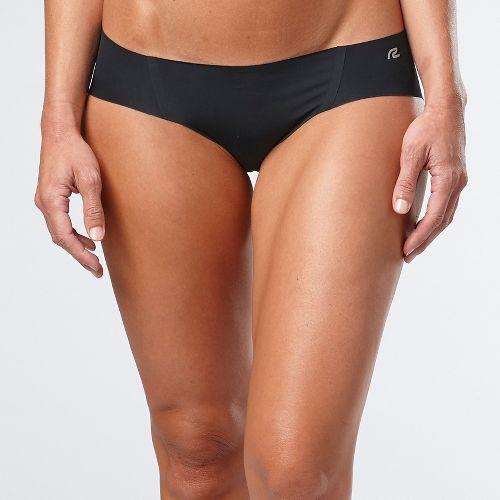 Womens R-Gear Undercover No Show Hipster Bikini Underwear Bottoms - Black L