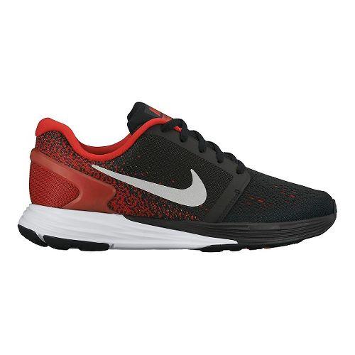 Kids Nike LunarGlide 7 Running Shoe - Black/Red 3.5Y