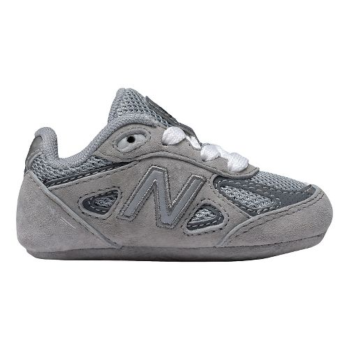 Kids New Balance 990v4 Running Shoe - Grey/Grey 3C