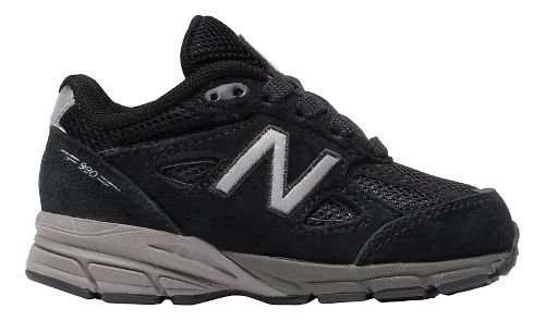 New Balance 990v4 Running Shoe - Black/Black 10C