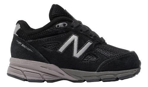 New Balance 990v4 Running Shoe - Black/Black 8C
