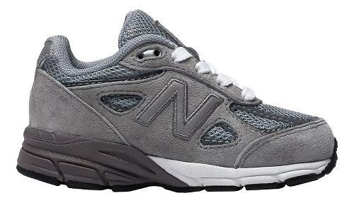 New Balance 990v4 Running Shoe - Grey/Grey 8C