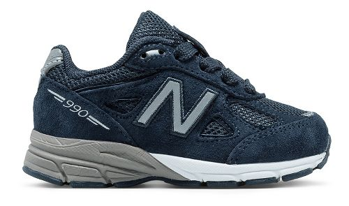 New Balance 990v4 Running Shoe - Navy/Navy 2C