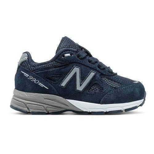 New Balance 990v4 Running Shoe - Navy/Navy 8C
