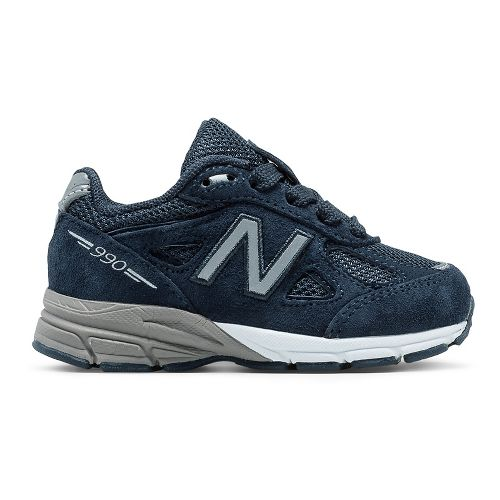 New Balance 990v4 Running Shoe - Navy/Navy 9.5C