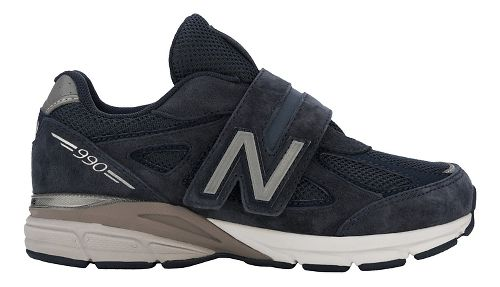 New Balance 990v4 Running Shoe - Navy/Navy 2.5Y