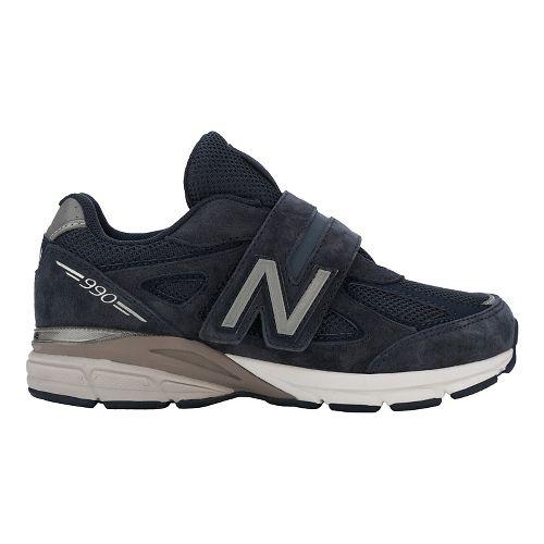 New Balance 990v4 Running Shoe - Navy/Navy 2Y
