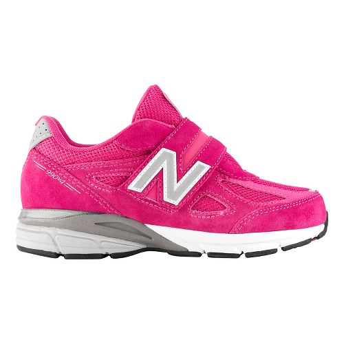 Kids New Balance 990v4 Running Shoe - Pink/Pink 12.5C