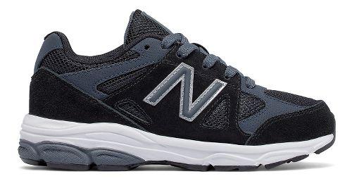 Kids New Balance 888v1 Running Shoe - Black/Grey 7Y