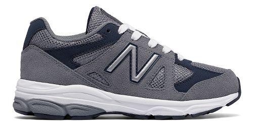 Kids New Balance 888v1 Running Shoe - Grey/Navy 4Y