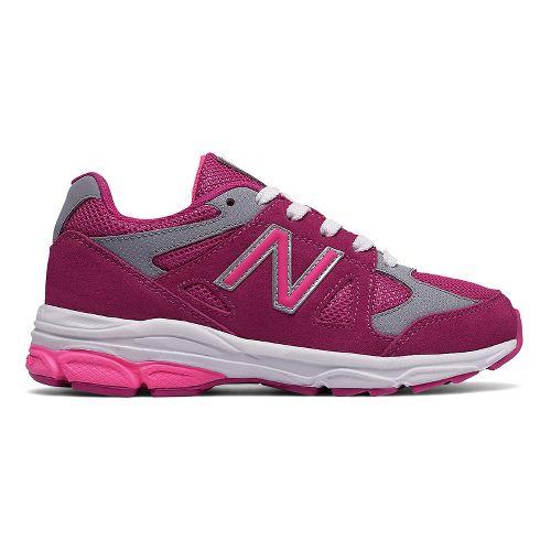 New Balance 888v1 Running Shoe - Pink/Grey 6Y