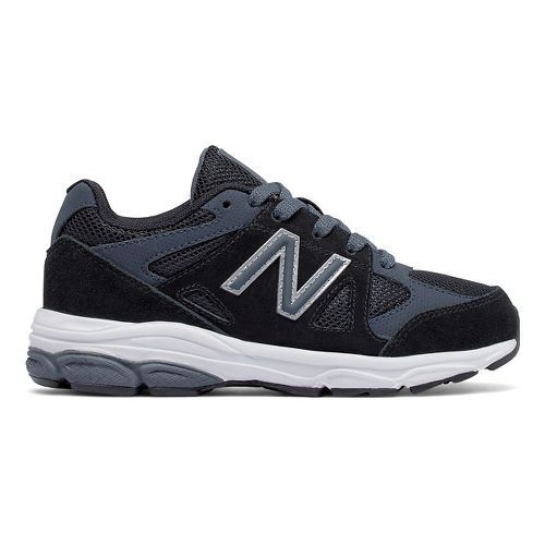 Kids New Balance 888v1 Running Shoe - Black/Grey 1Y